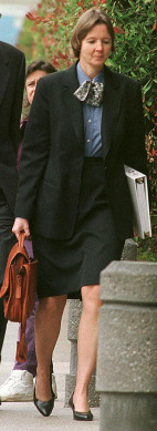 Image: Defense attorney Judy Clarke, 1998