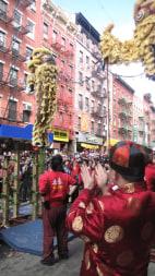Image: New York Chinatown parade.