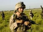 US Marine Sergent John Cox of 1st Combat