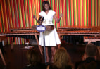 Image: First Lady Michelle Obama Hosts Talent Show At White House