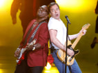Image: Host Jimmy Fallon performs 'Born to Run' with American Idol's Randy Jackson at the 62nd annual Primetime Emmy Awards in Los Angeles