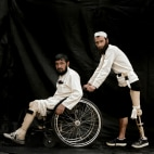 Image: Afghan Land Mine Victims Pose For Portraits