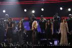Image: Yolanda Adams, Martina McBride, Christina Aguilera, Jennifer Hudson, Florence Welch
