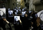 Image: TOPSHOTS  Bahraini Shiites women attend t