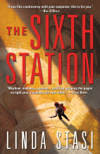 "Image: Book cover for ""The Sixth Station"""