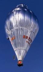 The Breitling Orbiter 3 balloon