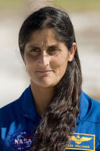 Image: Mission specialist Sunita Williams
