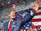 Image: George W. Bush campaigning in 2000