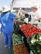 Image: Farmers market