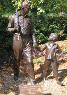 Image: Andy Griffith statue
