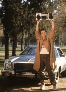 "Image: John Cusack in ""Say Anything"""