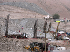Image: Mine where miners trapped