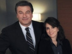 "Image: Alec Baldwin, Tina Fey on ""30 Rock"""