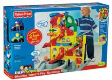 Image: Fisher-Price Little People Wheelies Stand 'n Play Rampway