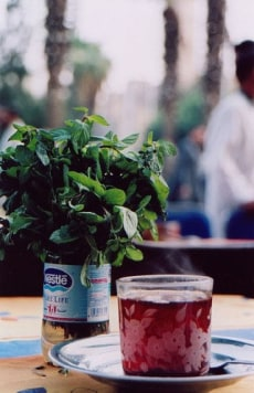 Image: tea with mint