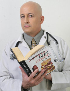 Image: Heart Attack Grill owner Jon Basso