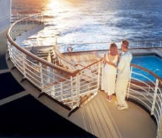 Image: couple on Princess Cruises