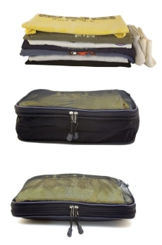 Image: Compressible Packing Cubes from Kiva Designs