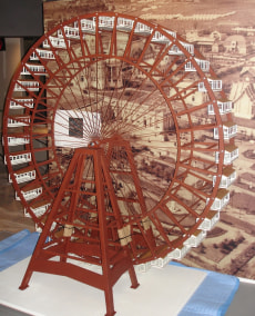 Image: George Ferris' wheel