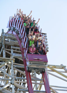 Image: Texas Giant, Six Flags Over Texas