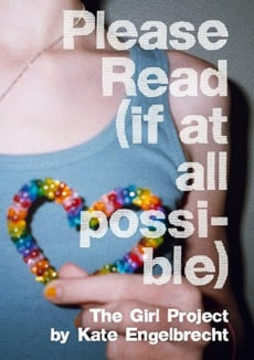 """Image: Book cover for """"Please Read (if at all possible): The Girl Project"""""""