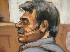 Image: Courtroom sketch of Manssor Arbabsiar