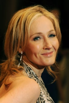 British author JK Rowling arrives for th