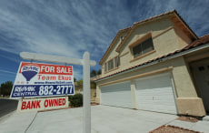 Image: A foreclosed home in Las Vegas