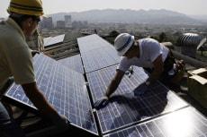 Image: Solar panel installation