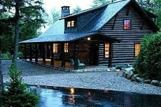 Image: Lake Placid home