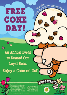 Image: Free Cone Day!