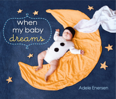 "Image: Book cover for ""When My Baby Dreams"""