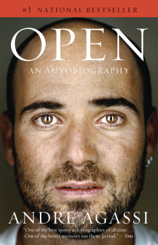 "Book jacket: Andre Agassi's ""Open"""