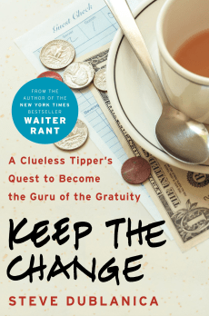 Image: 'Keep the Change' book jacket