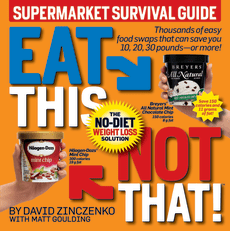 "Book cover: ""Eat This Not That: Supermarket Survival Guide"""