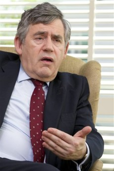 Image: Former Prime Minister Gordon Brown