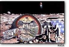 Image: Lunar colony