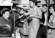 Cast Of 'The Honeymooners' On Bus