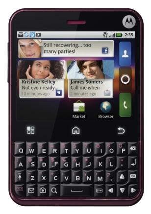 Image: Motorola Charm