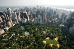 Image: Central Park and midtown Manhattan