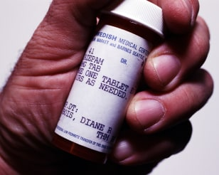 Image: Prescription drug canister