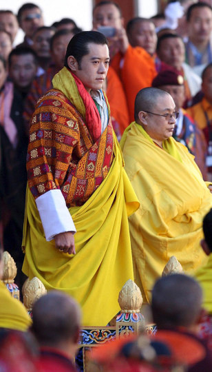 Image: Bhutan's fifth king Jigme Khesar Namgyel Wangchuck