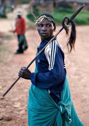 Image: Traditional Mai Mai militia fighter