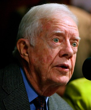 Image: Former United States President Jimmy Carter
