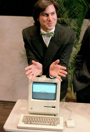 Image: Steve Jobs in 1984