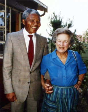 Image: Helen Suzman andNelson Mandela