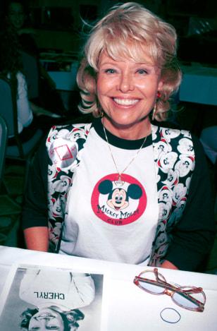 Image: Former Mouseketeer Cheryl Holdridge