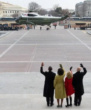 Image: President Bush departs