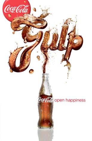 Image: Coke ads