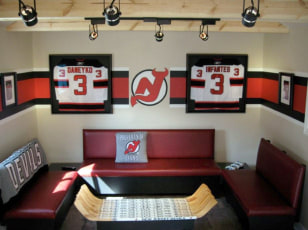 Image: New Jersey Devils man cave